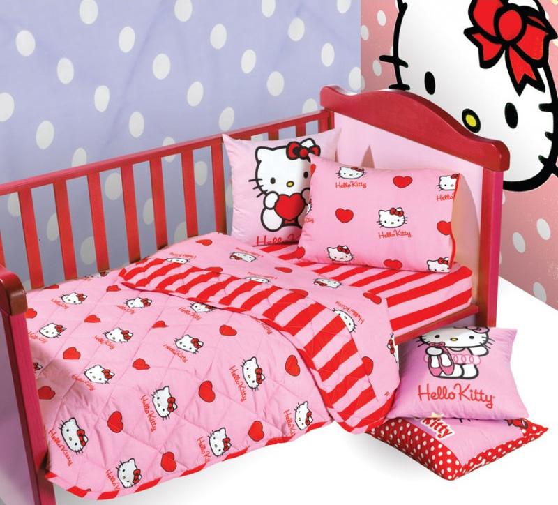 Κουβερλί βρεφικό κούνιας Hello Kitty 301 – Casa Bianca Πάτρα  fd303d812c7