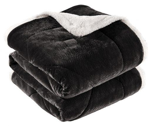 Κουβερτοπάπλωμα Υπέρδιπλο 220x240 Guy Laroche Fabulous Black