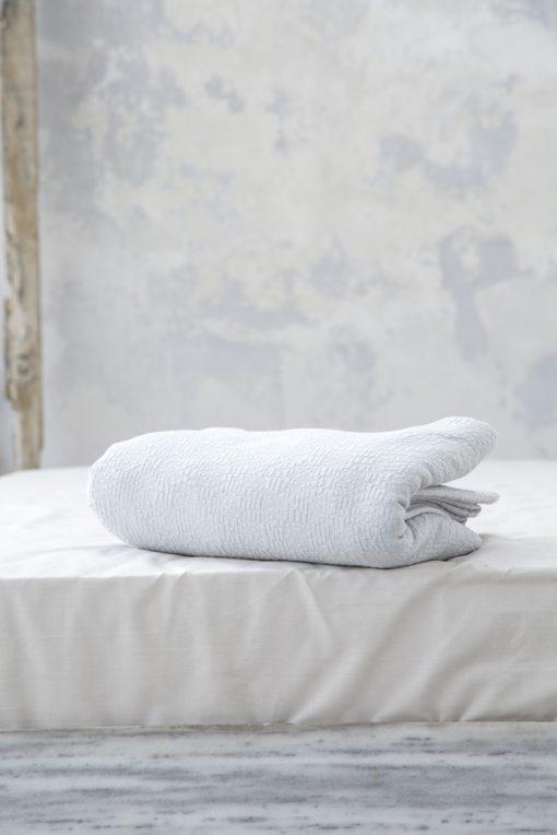 Κουβέρτα Υπέρδιπλη Βαμβακερή 230x260 NIMA Sheena Grey