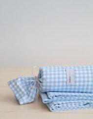 Παιδικό Σεντόνι Βαμβακερό 170x255 NIMA Kiddo Blue