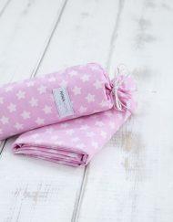 Παιδικό Σεντόνι Βαμβακερό 170x255 NIMA Astrid Pink