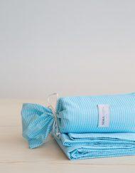 Παιδικό Σεντόνι Βαμβακερό 170x255 NIMA Flip Flap Aqua