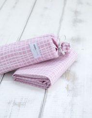 Παιδικό Σεντόνι Βαμβακερό 170x255 NIMA Totter Pink