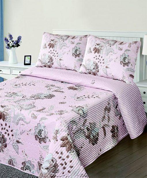 Σετ Κουβερλί Υπέρδιπλο 220x240 5305 Pink