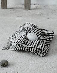 Πετσέτα θαλάσσης jacquard 90x160 NIMA Bubble Black
