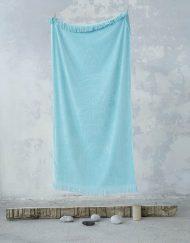 Πετσέτα θαλάσσης jacquard 90x160 NIMA Pineapple Gray