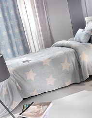 Κουβέρτα παιδική Ultrasoft 160x220 SAINT CLAIR Pirineo Blue