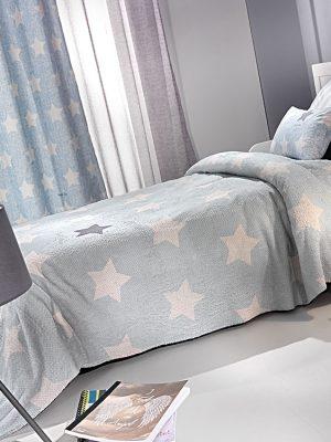 Κουβέρτα παιδική Ultrasoft 160x220 SAINT CLAIR Pirineo Blue