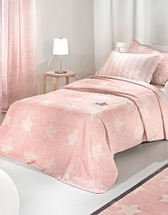 Κουβέρτα παιδική Ultrasoft 160x220 SAINT CLAIR Pirineo Pink