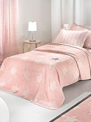 Κουβέρτα παιδική Ultrasoft 160x220 SAINT CLAIR Pirineo Pink