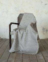 Ριχτάρι Chenille για Καναπέ NIMA Graze Grey