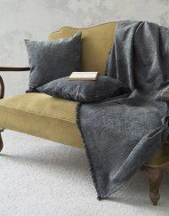 Ριχτάρι Chenille για Καναπέ NIMA Blend Grey