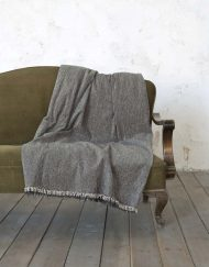 Ριχτάρι Chenille για Καναπέ NIMA Comfrey Grey