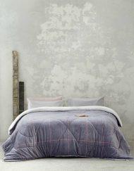 Κουβερτοπάπλωμα Υπέρδιπλο 220x240 NIMA Tailor Gray