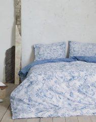Παπλωματοθήκη Σετ Υπέρδιπλη 220x240 NIMA Roussia Blue