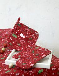 Γάντι Κουζίνας Χριστουγεννιάτικο NIMA Be Merry