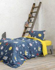Πάπλωμα Παιδικό Βαμβακερό 160x220 SAINT CLAIR Starium