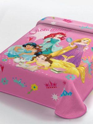 Κουβέρτα DISNEY 160x220 Princess 346