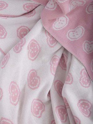 Κουβέρτα Κούνιας Πλεκτή 110x140 NIMA Candy
