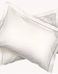 Σεντόνια Υπέρδιπλα Σετ 240x270 Guy Laroche Blend Ecru Silver