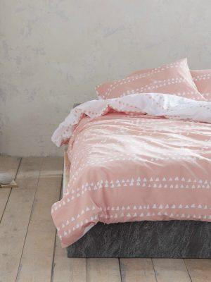 Σεντόνια Σετ Μονά 170x260 NIMA Natal Pink